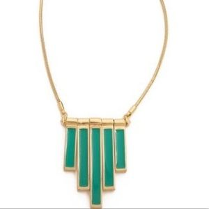 NWT Marc By Marc Jacobs Green & Gold Necklace